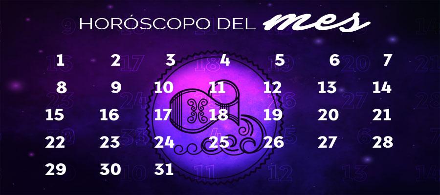 Horóscopo Acuario Mensual – Horóscopo del mes gratis